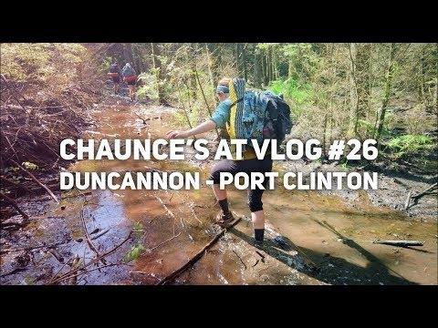Chaunce's AT Vlog #26: Duncannon - Port Clinton - The Trek