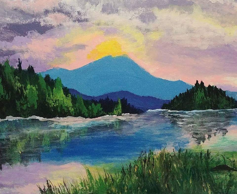 Ashley Hill appalachian trail art