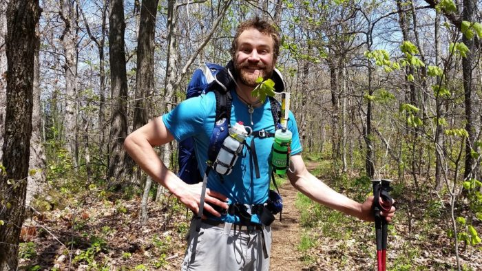 Daniel Zube appalachian trail poetry