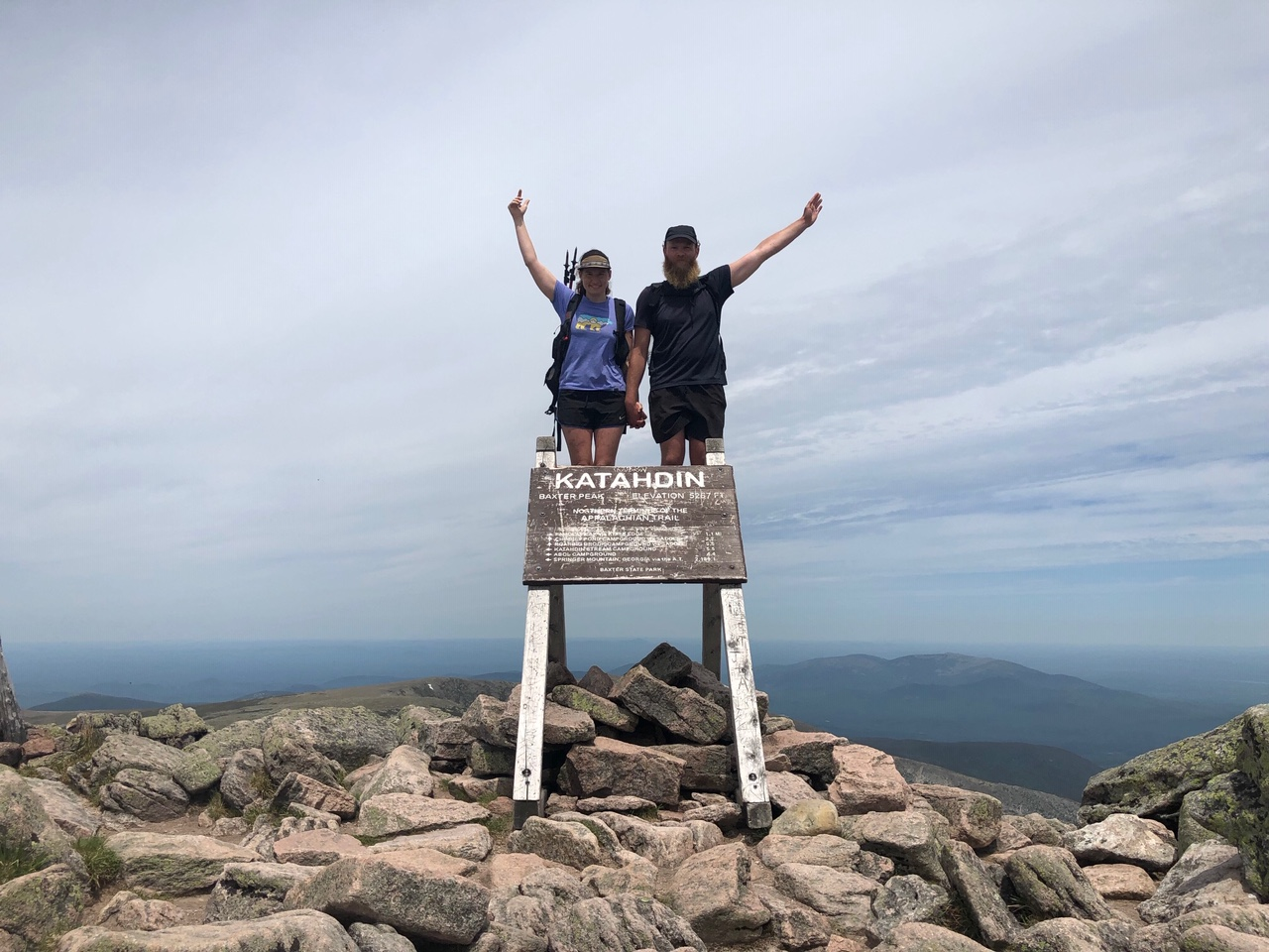 2019 Appalachian Trail Thru-Hiker Completions: June 23 - July 9 - The Trek