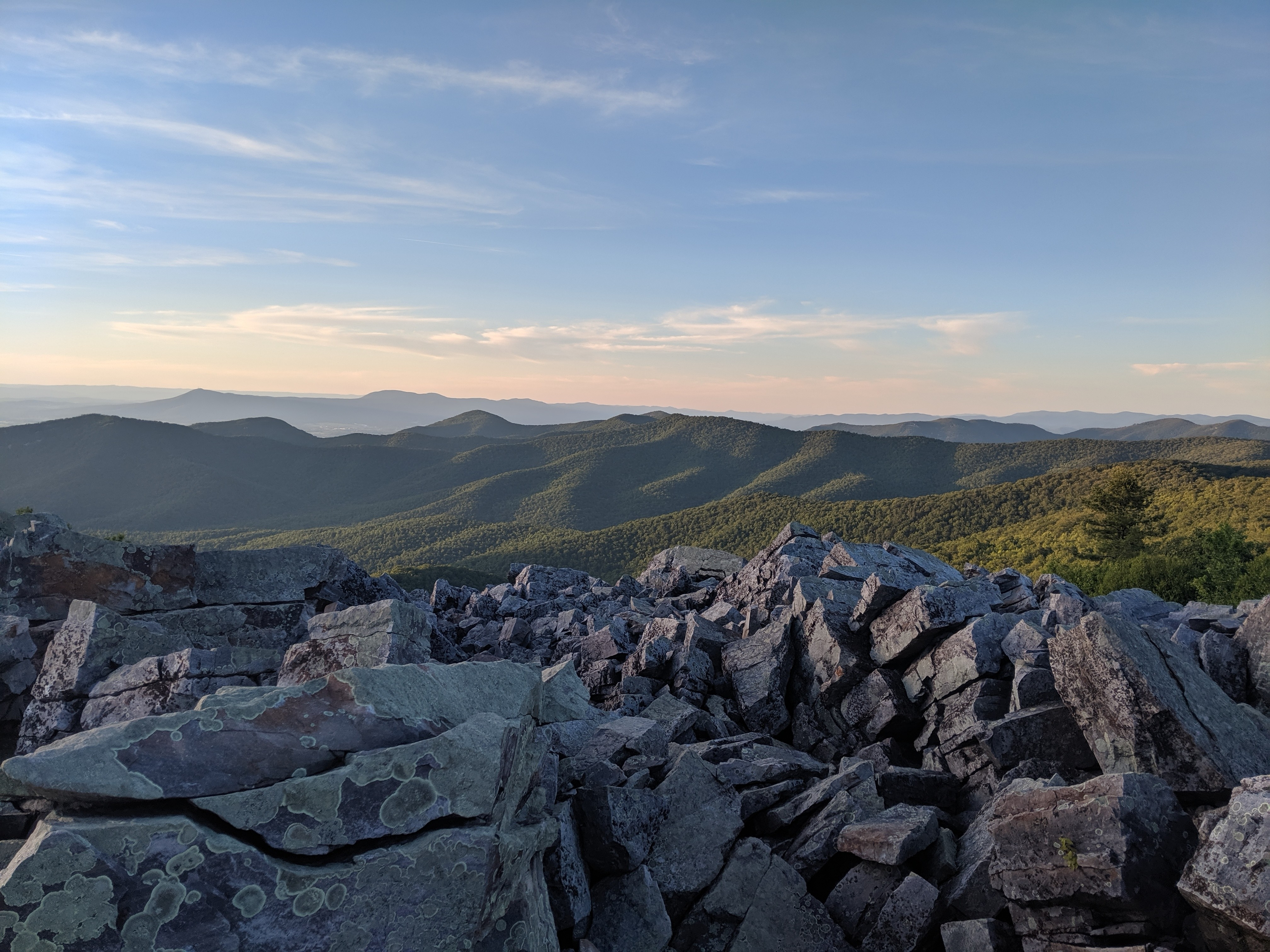 Dodging the Virginia Blues and More Than Half Way There - The Trek