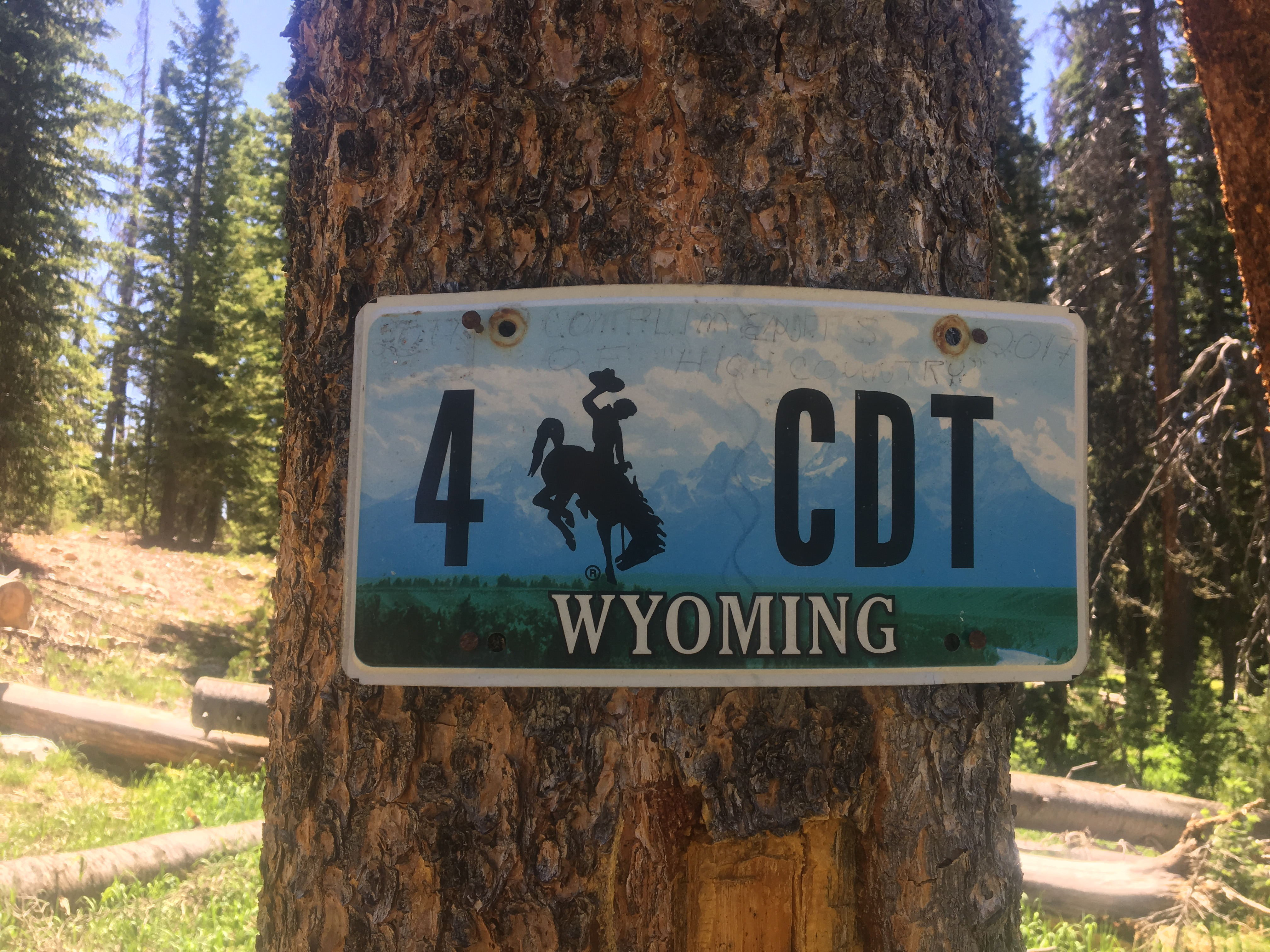 Crossing a State Line!!!!! - The Trek