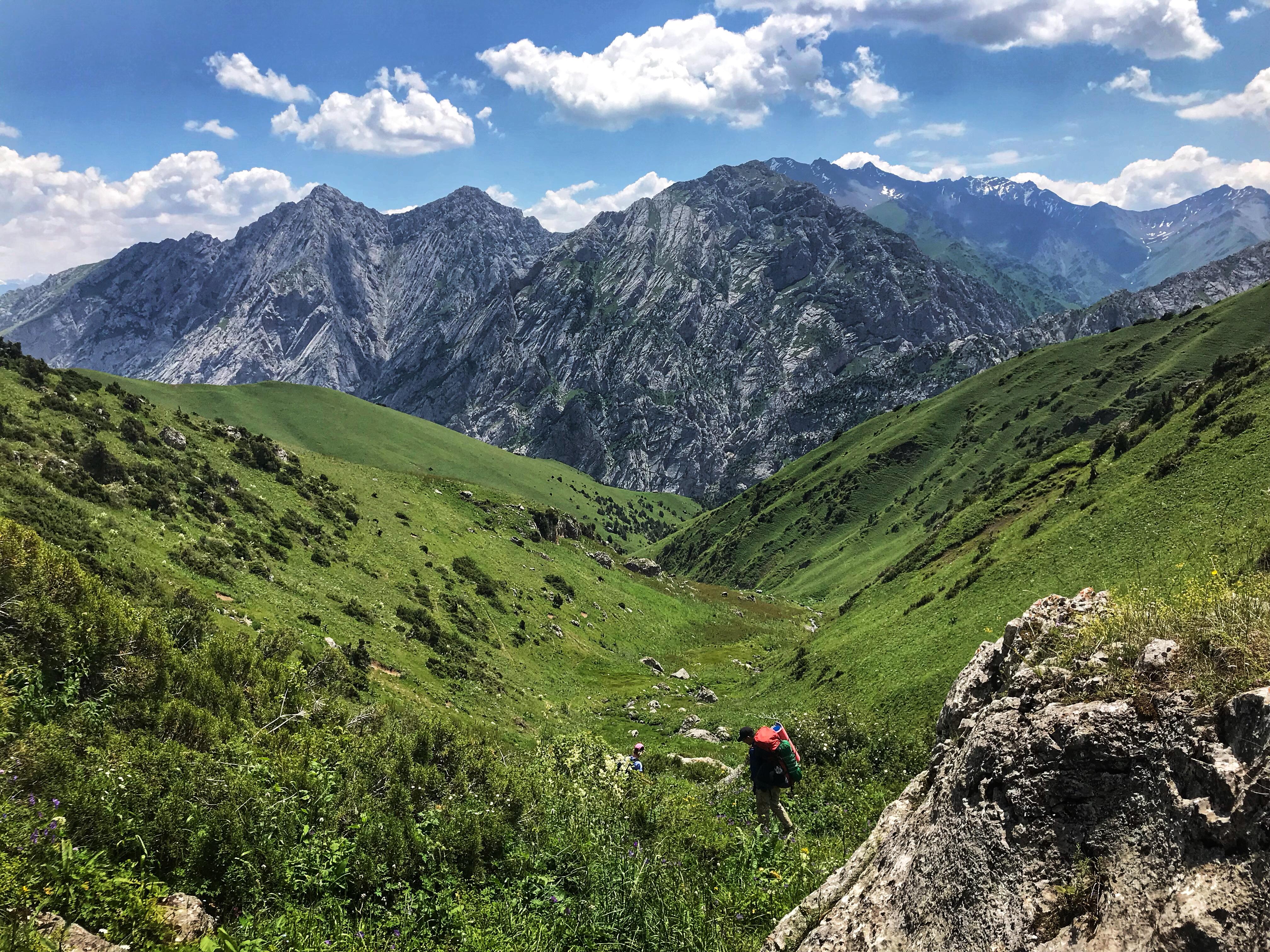 Trekking Kyrgyzstan's Akotor Pass, Day 3 - The Trek