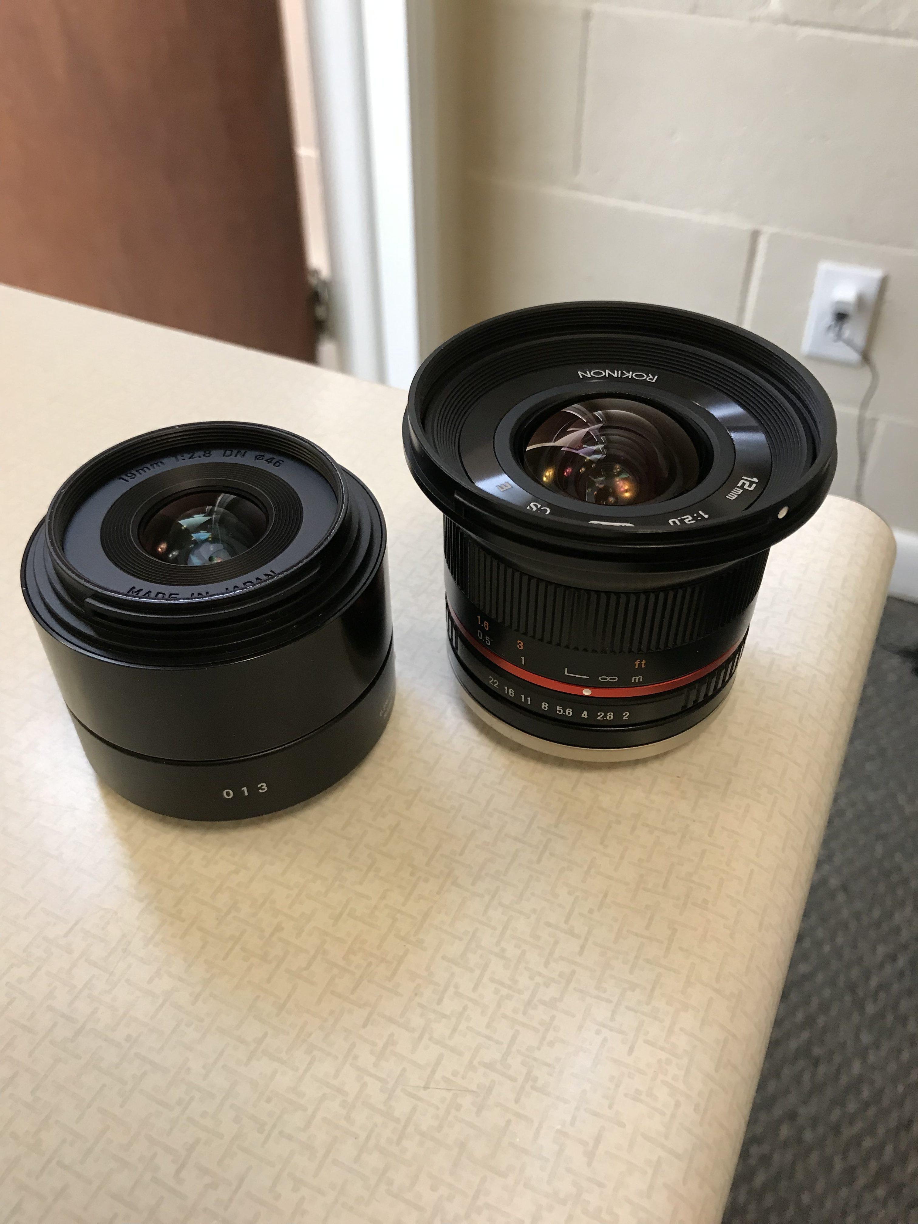 Lens Swap! - The Trek