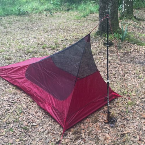 MSR Thru HIker Mesh House 1 tent