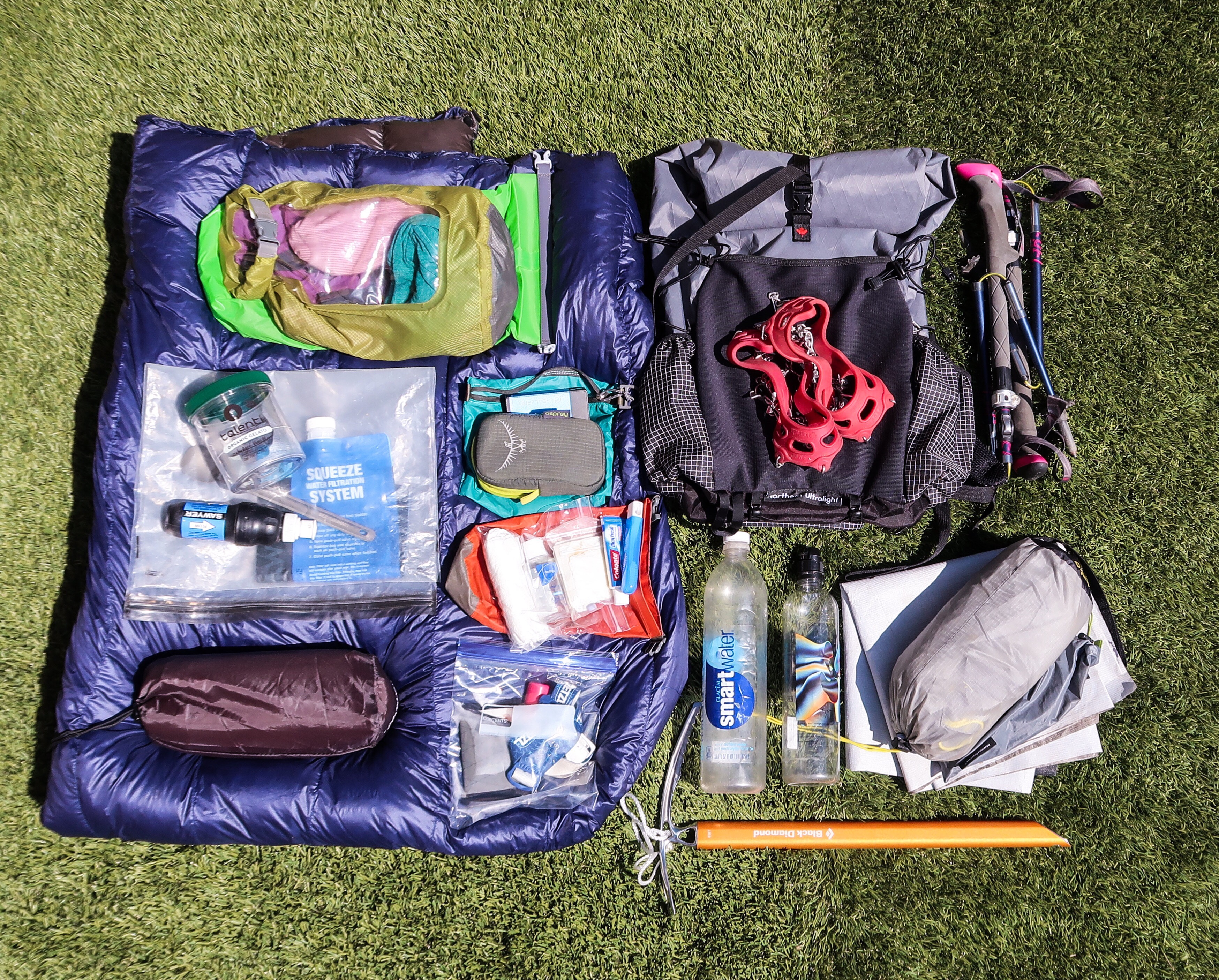 Baby's Wind River Gear List: High Elevation, Potential Snow - The Trek