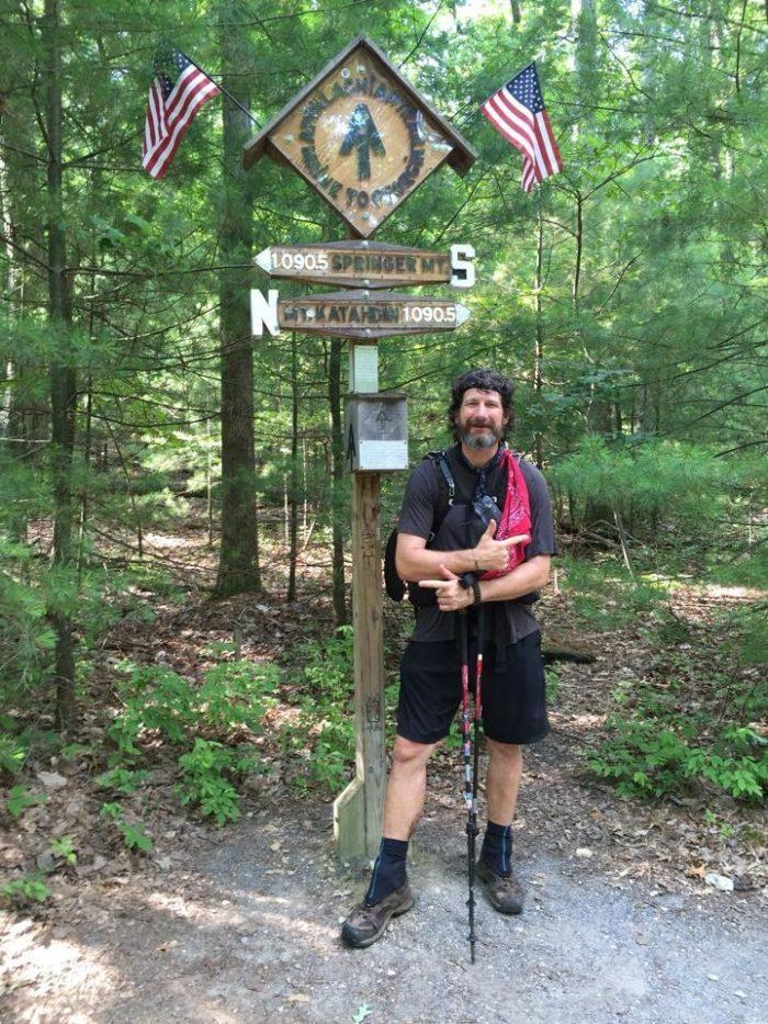 brandon jacob appalachian trail chafe