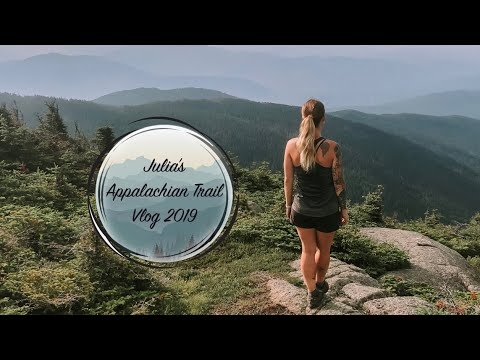 Julia's Appalachian Trail 2019 Vlog #24 - Rutland to Lincoln - The Trek
