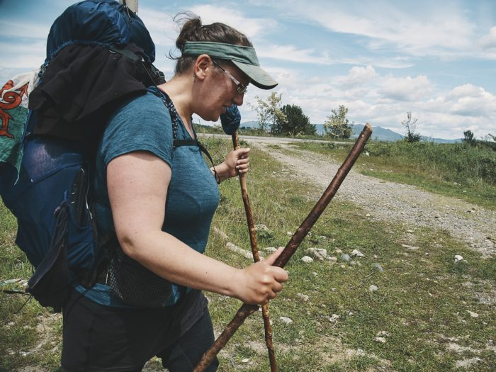 hiking in kosovo - ursula
