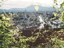 hiking in kosovo - prizren