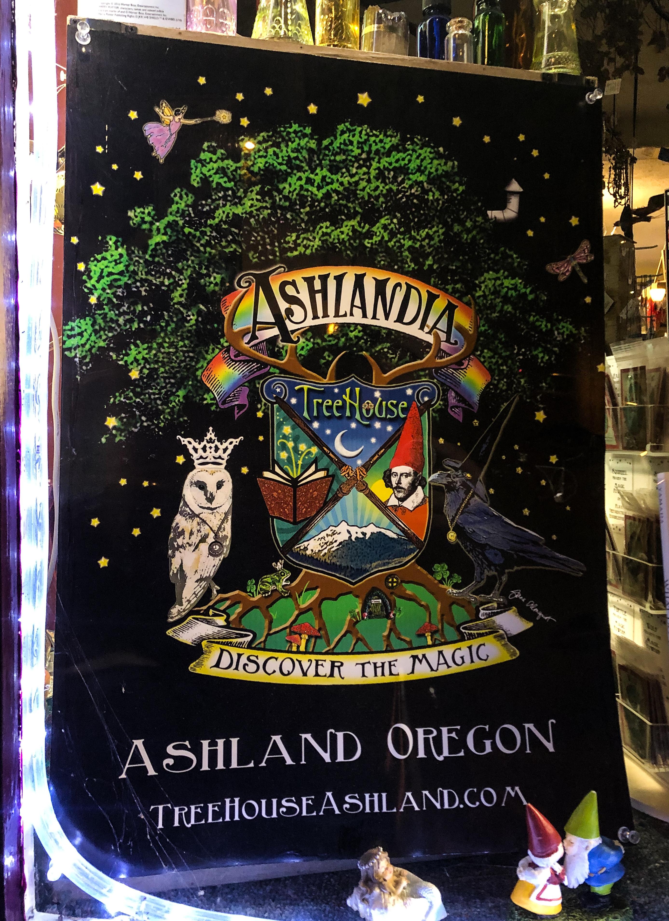 Ashlandia poster Ashland Oregon