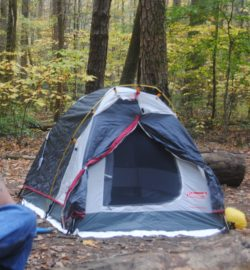 The tent in question