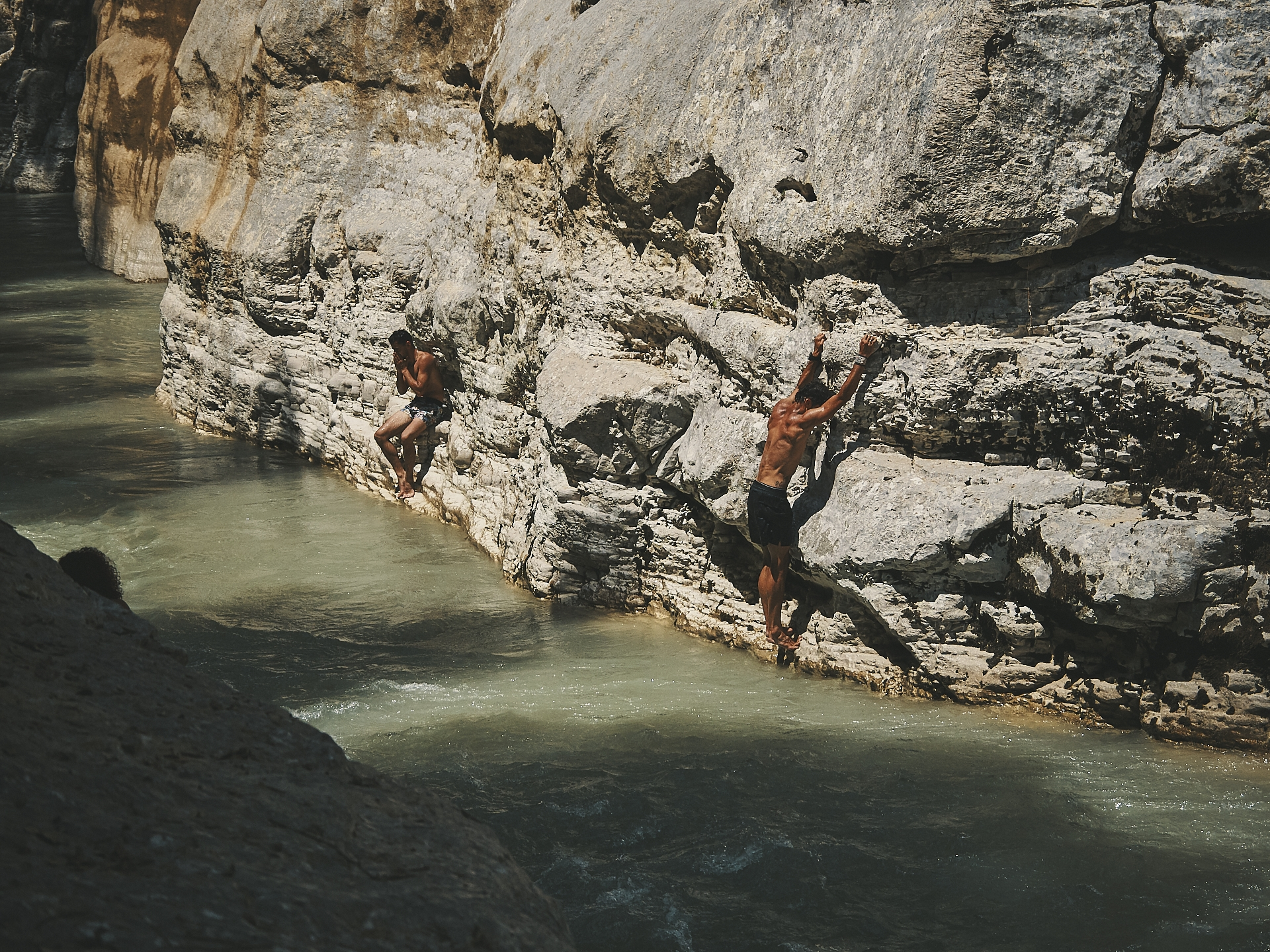Albania - Canyon Osum