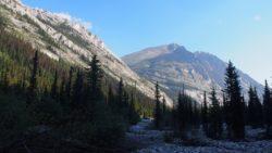 Upper Elk Lake on the Great Divide Trail