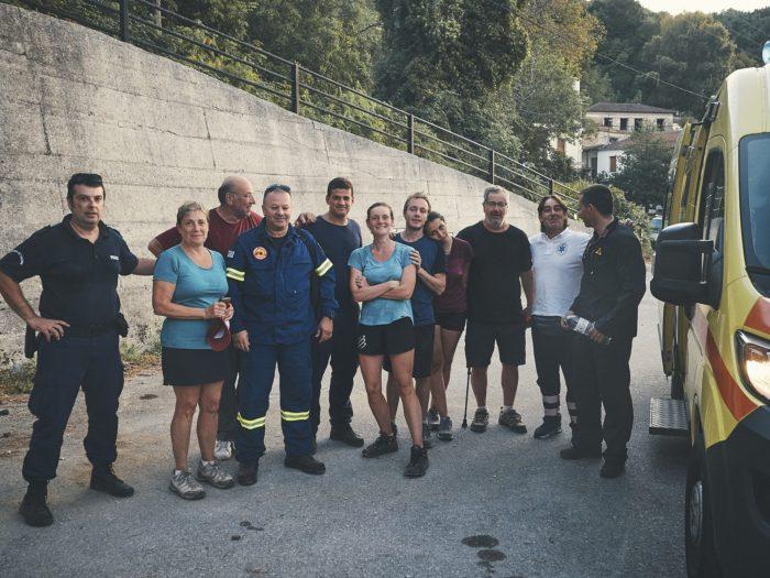 2PVA, Greece, rescue Pelion