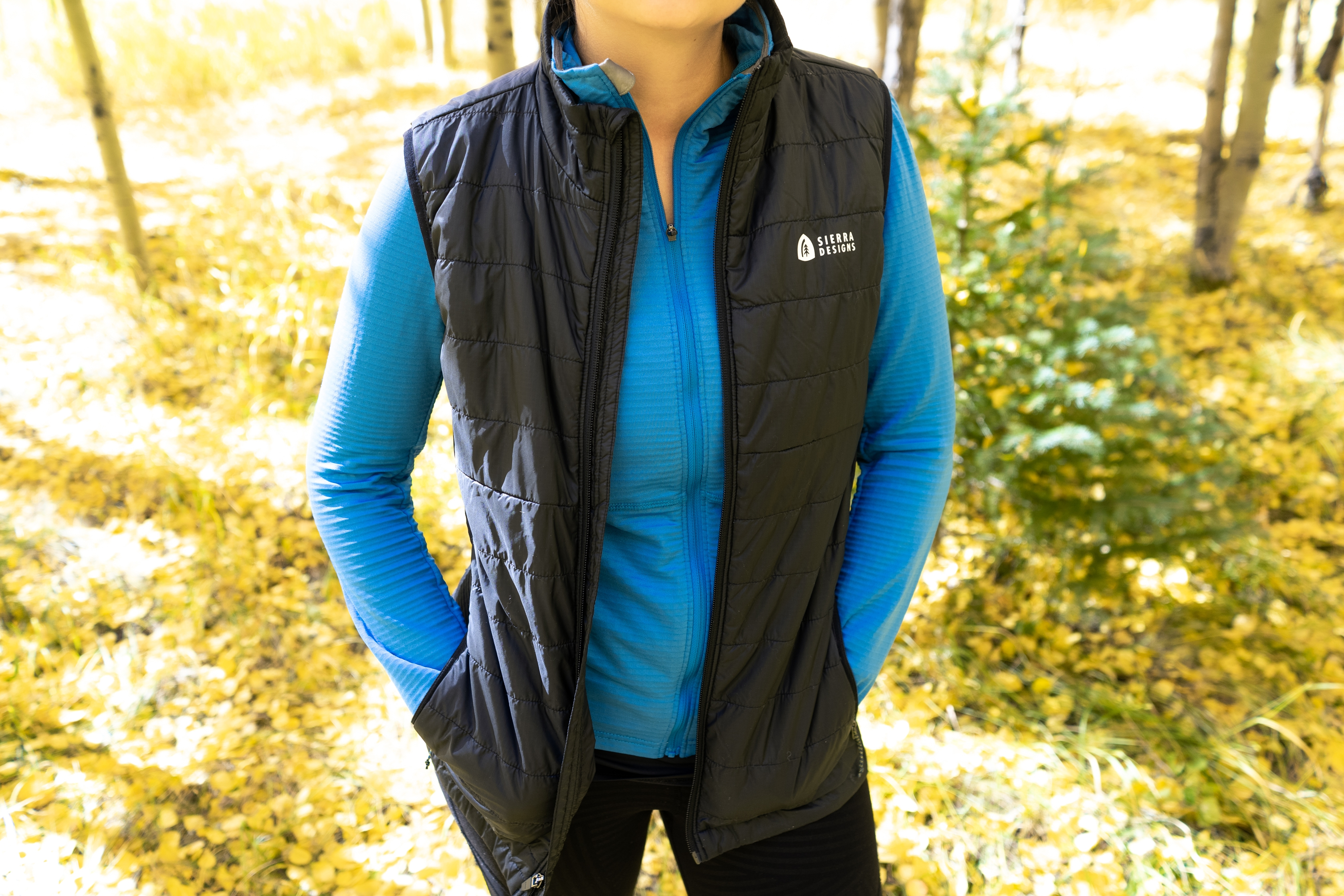 Gear Review: Sierra Designs Tuolumne Vest and Cold Canyon Fleece - The Trek