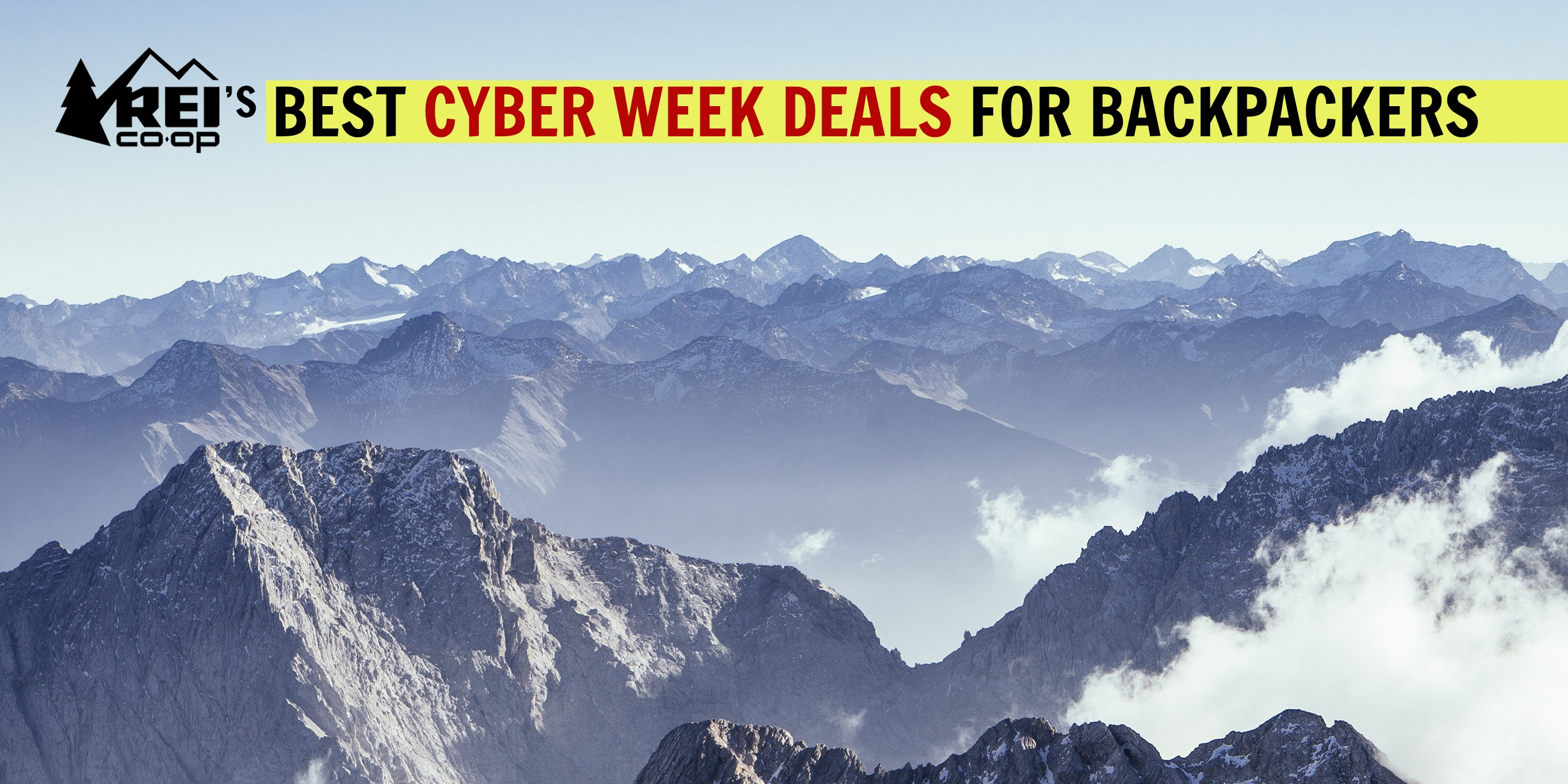 The Best Deals for Backpackers at REI's Cyber Week Sale - The Trek