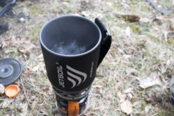 Boil test on the JetBoil MicroMo