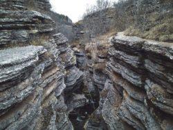 Hiking in Serbia, rosomac canyon