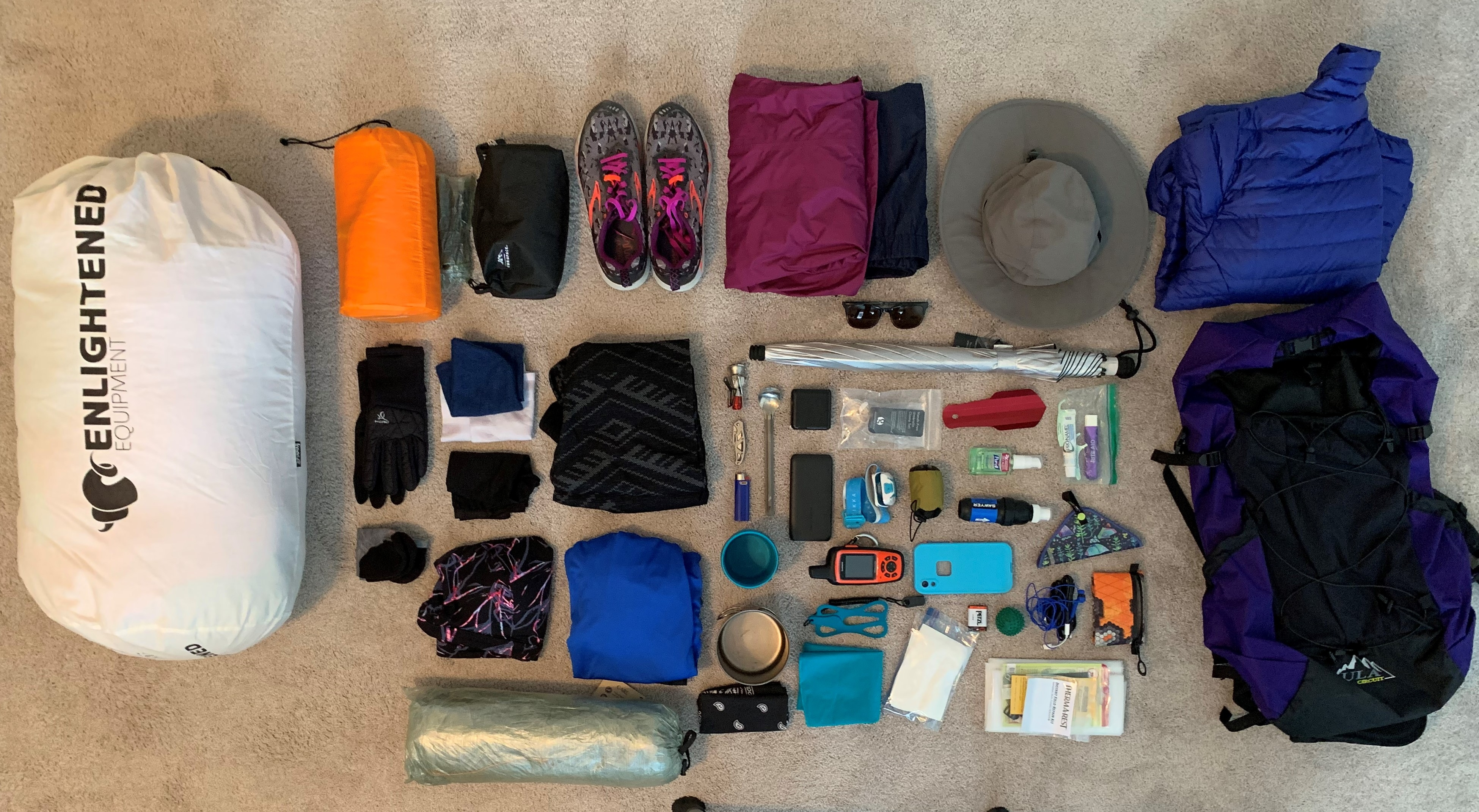 My Mistakes and Gear: What I'm Taking on the PCT in 2020 - The Trek