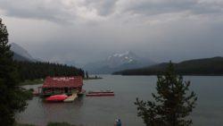Maligne Lake Trailhead