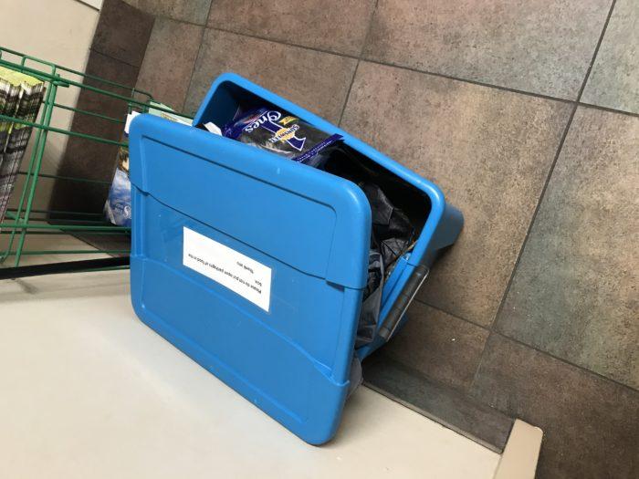 Hiawassee- hiker box