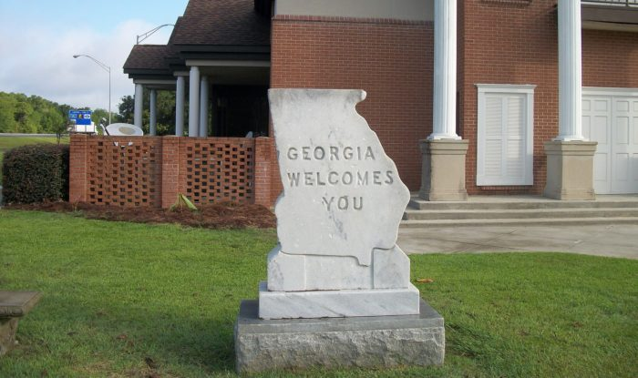 Georgia Sign