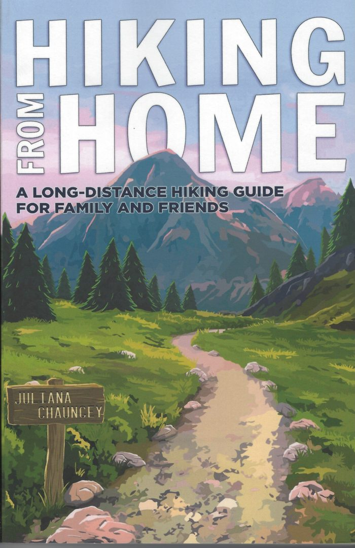 hiking from home Cover design by Jack D. Franks and Bucket List Prints