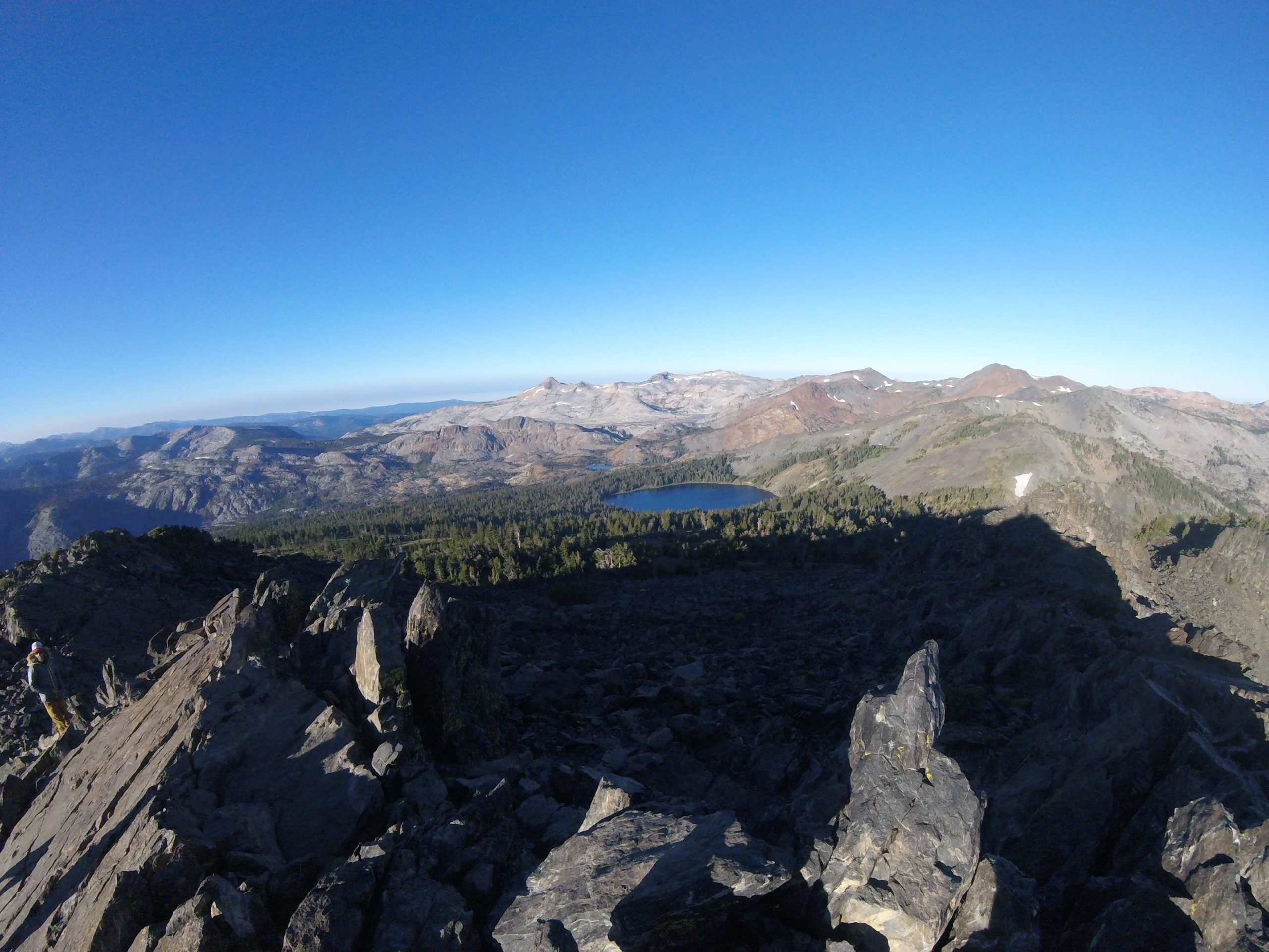 Best Local Day Hikes Around Tahoe - Looking West from Tallac Summit PC Tucker Ballister