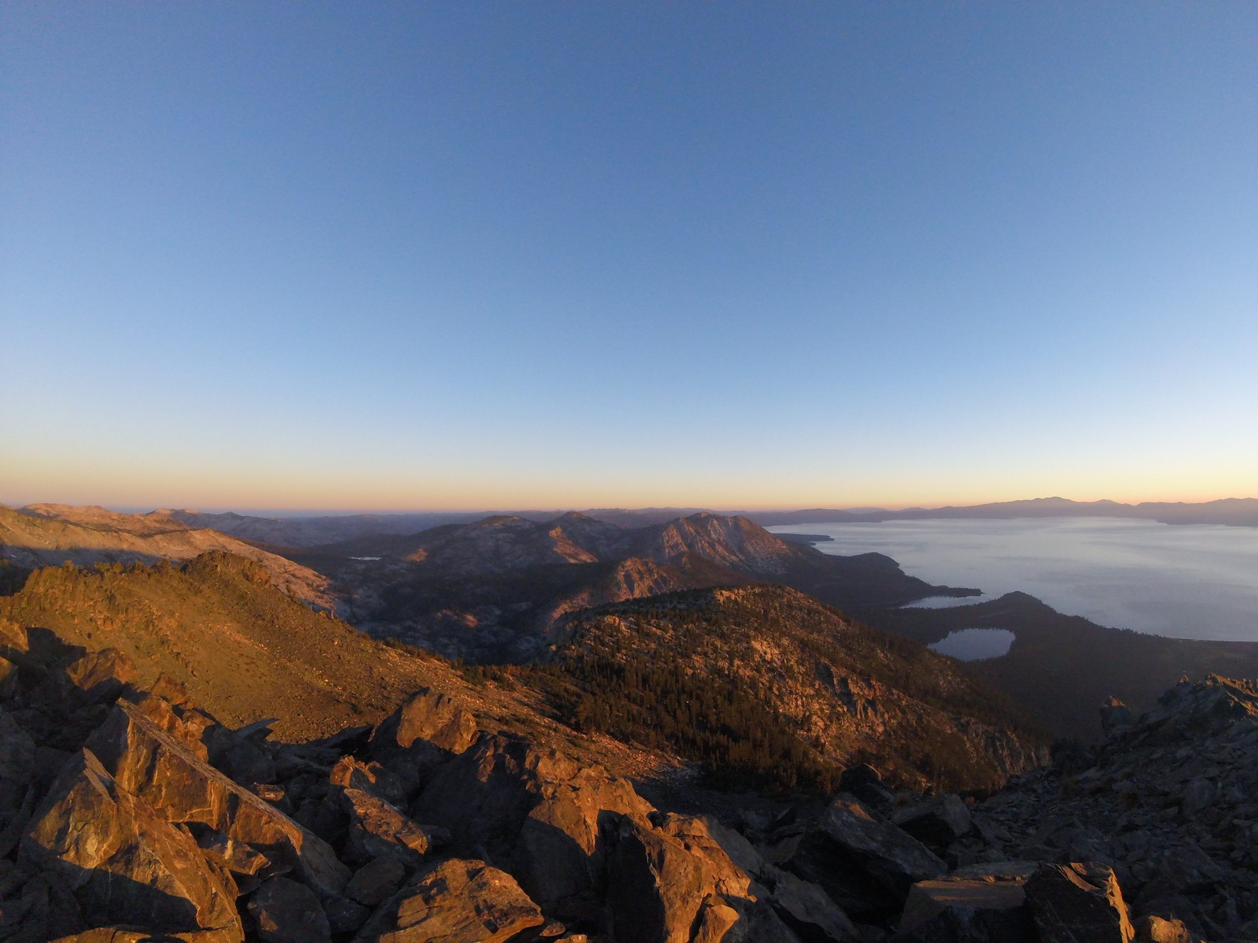 Best Local Day Hikes Around Tahoe - Looking North From Tallac Summit PC Tucker Ballister