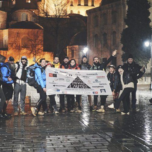 Finish line, Istanbul, Turkey