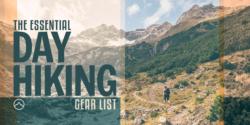 day hiking gear list