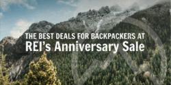 REI Anniversary Sale