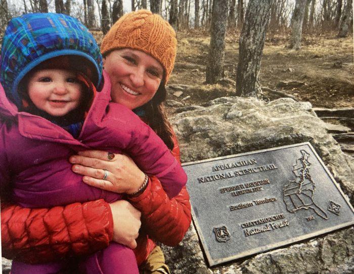 sarah jones decker morgan springer mountain appalachian trail shelter