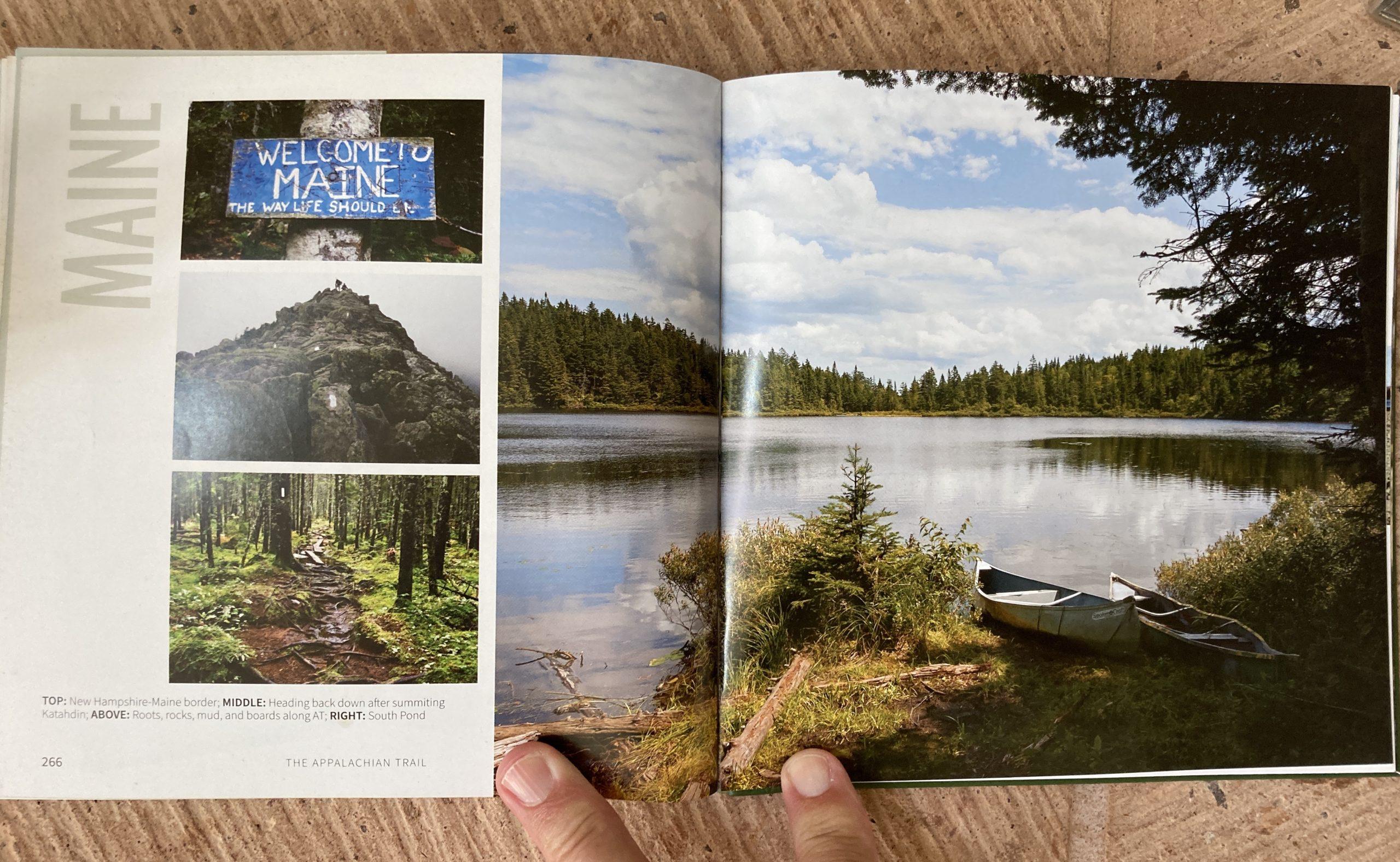 sarah jones decker appalachian trail shelters maine