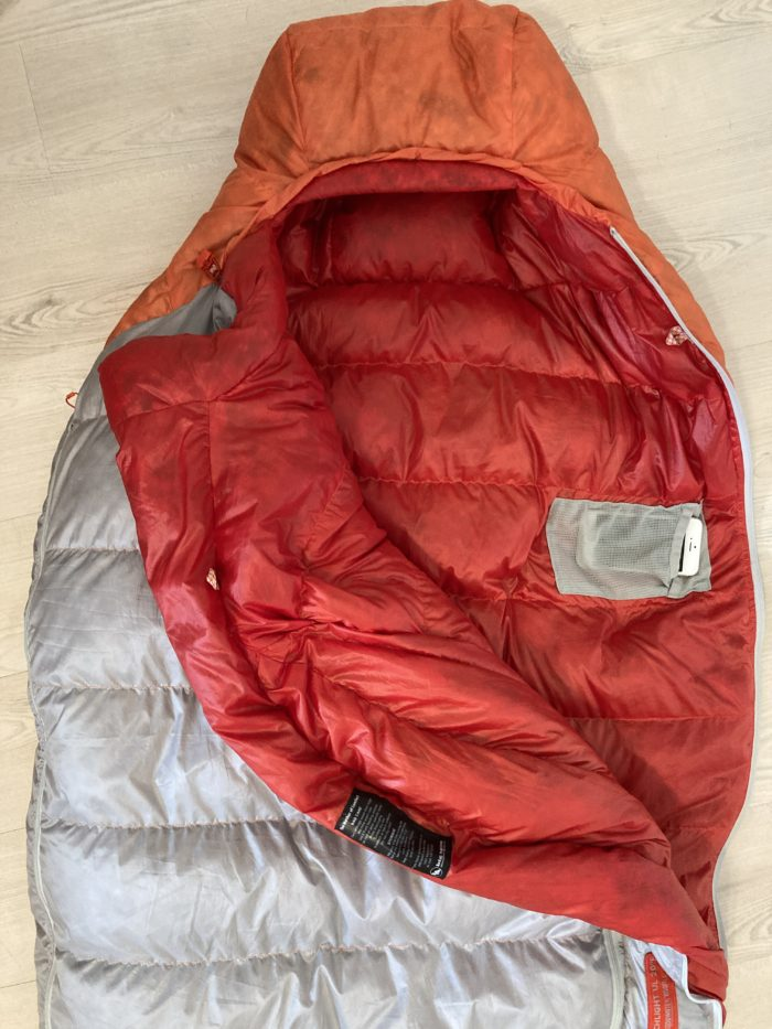 Big Agnes Torchlight UL 20º sleeping bag