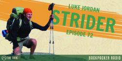Luke Jordan Strider Backpacker Radio