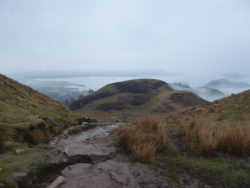 Bonny Loch Lomond from up on Conic Hill. West Highland Way.
