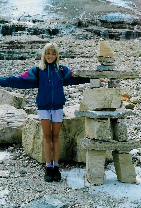 Mimicing an inuksuk, apparently