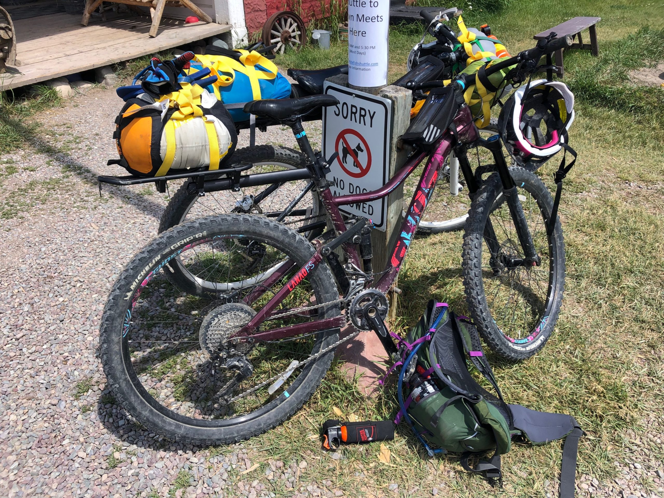 maggie slepian bike packing