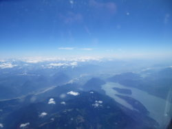 View of Harrison Lake from my Dash-8