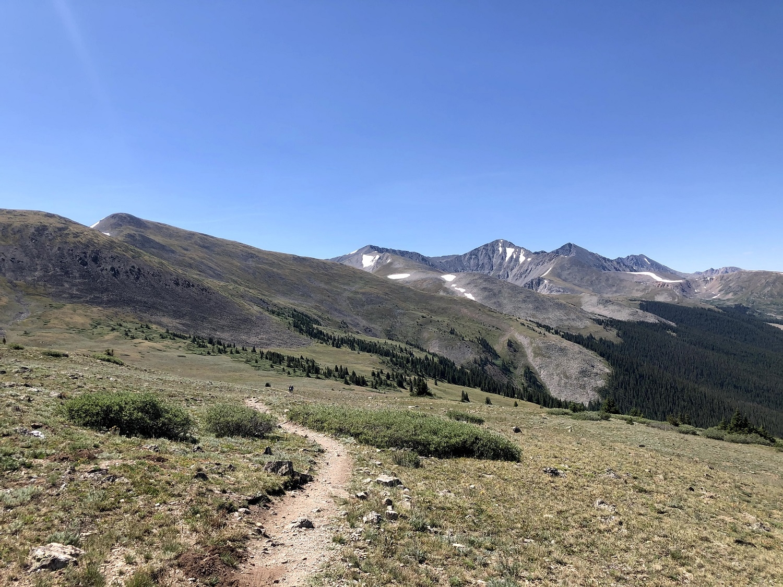 West slope of Segment 7