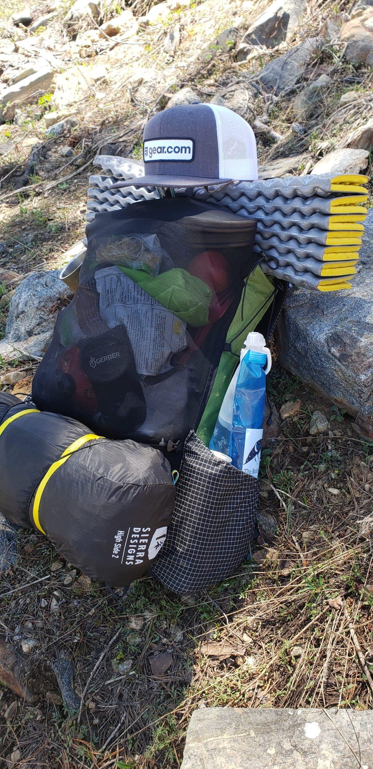 Sierra Designs Tent On Pack 2