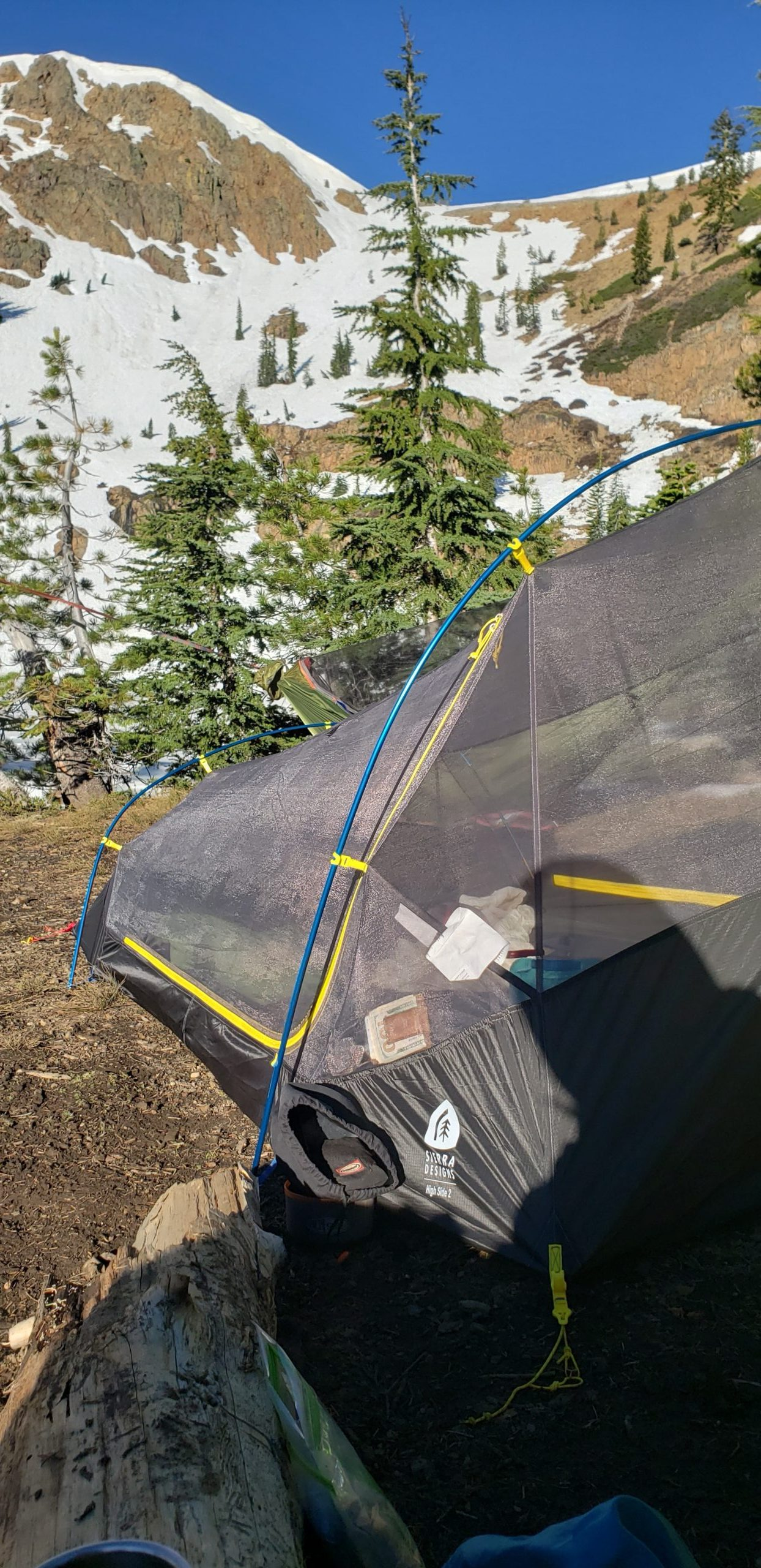 Sierra Designs Tent Length