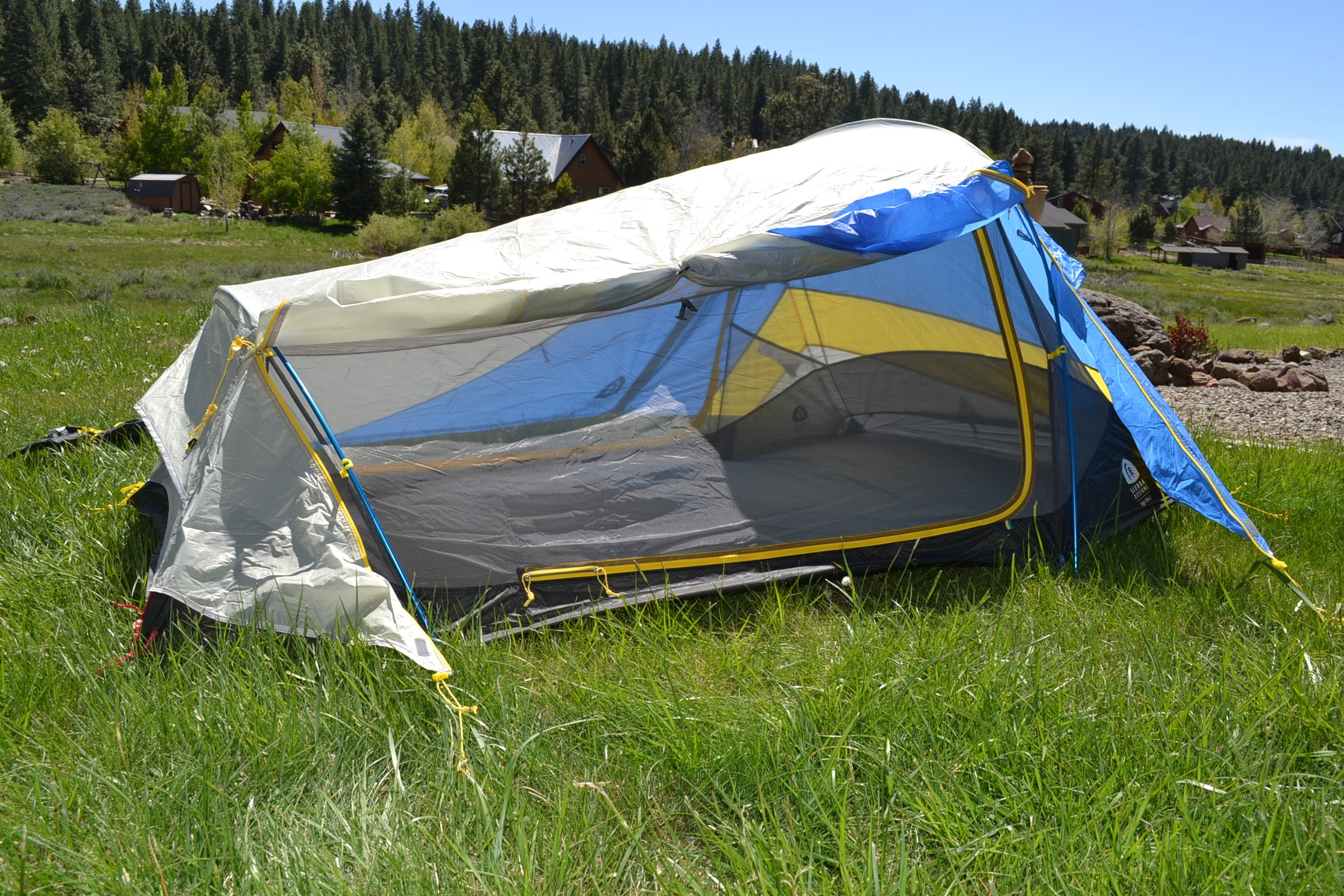 Sierra Designs High Side 2 Tent - open vestibule