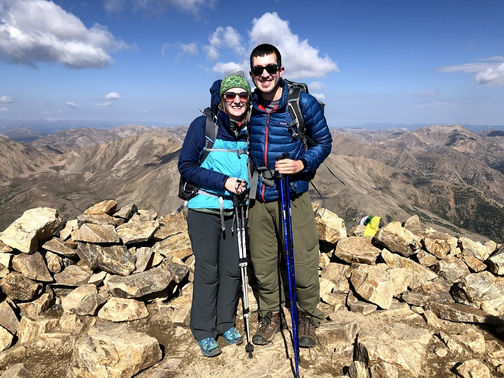 Mt. Elbert summit