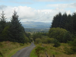 Views from the Rob Roy Way, a very poorly marked trail beyond day one.