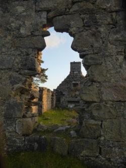 Bynack Lodge ruins were super cool.