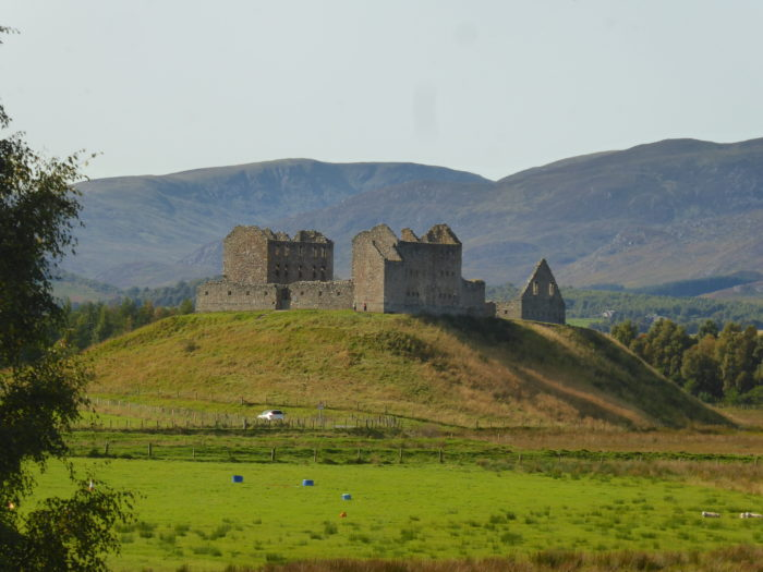 Ruthven Barracks - you can actually visit it but I was too low on energy.