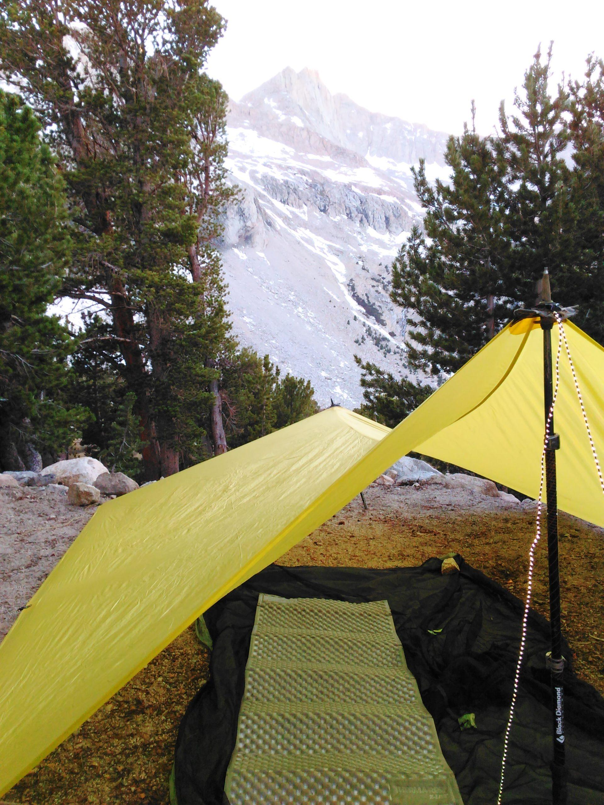 choose a perfect campsite